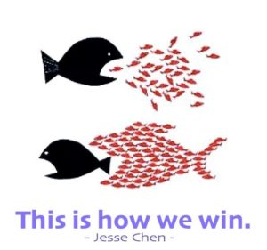 This is how we win